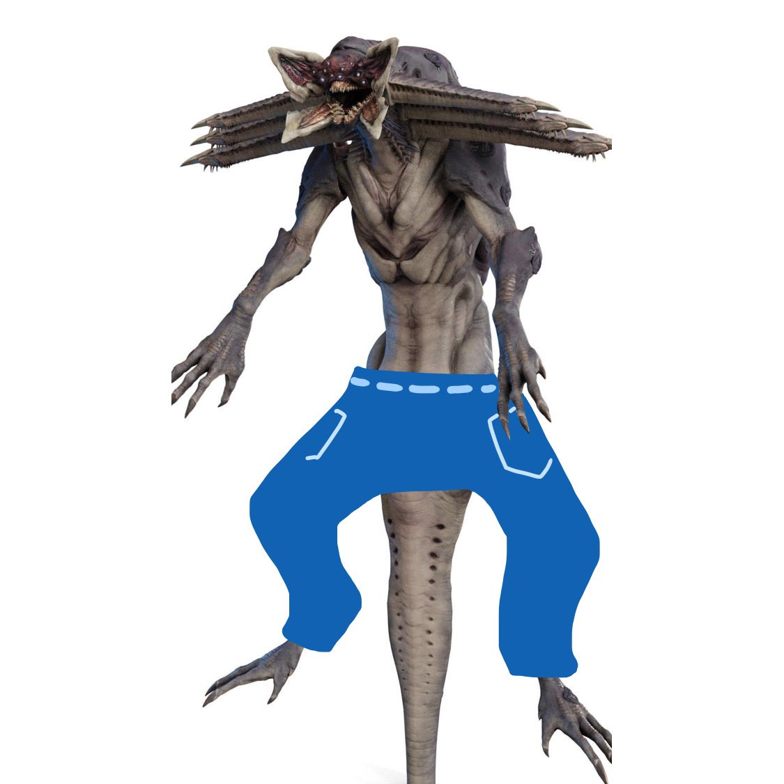 If Riven wore pants would she wear them  Like this                Or               Like this