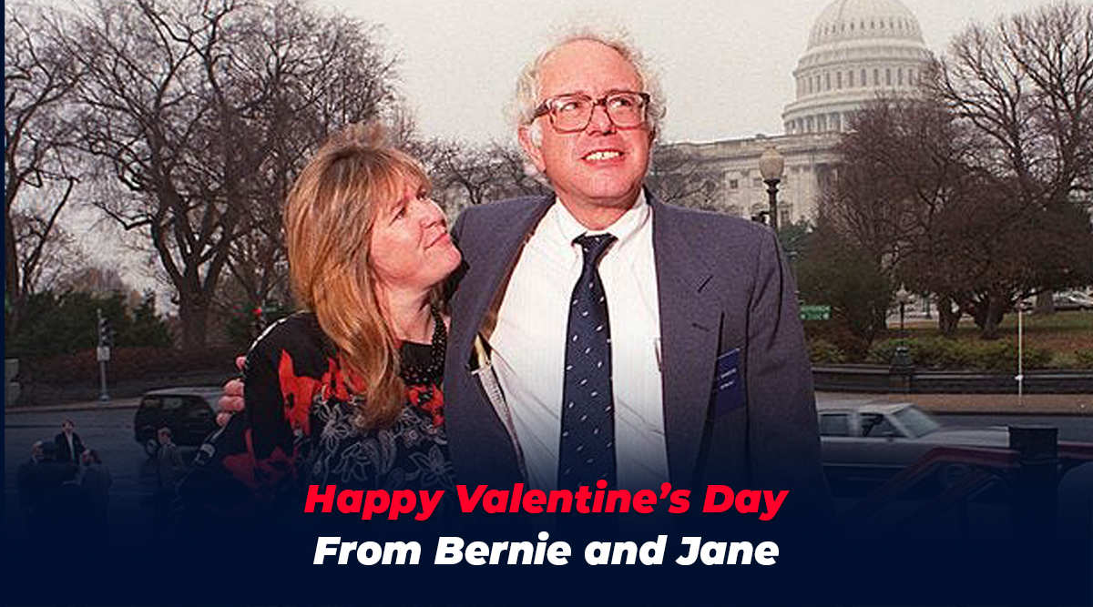 Jane and I wish everyone a Happy Valentine's Day filled with love and compassion.
