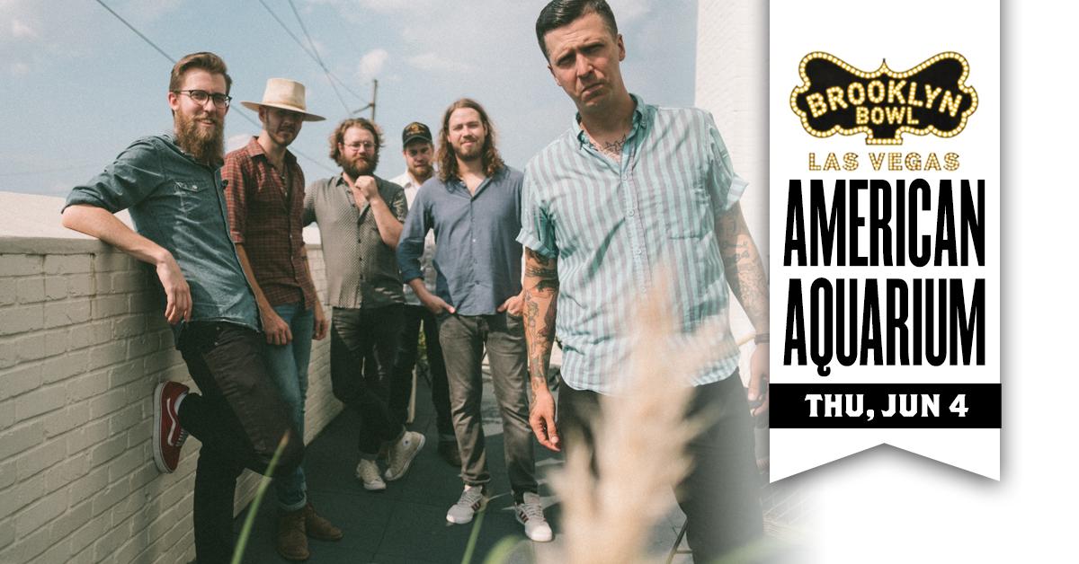 🐟 JUST ANNOUNCED 🐟 Alt-Rock/country act .@USAquarium returns to the Bowl on THU, JUN 4. Grab tix this FRI  -->>