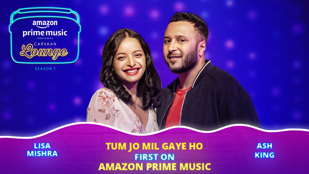 #BrandNew That feeling of meeting someone for the very first time! ❤ 'Tum Jo Mil Gaye Ho' by #LisaMishra & @iamashking, out now on #CarvaanLounge!  🎧 #FirstOn @AmazonMusicIN  🎥     #CarvaanLoungeOnAmazonMusic