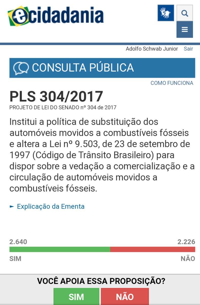 Vote não a essa bizarrice. Querem tirar nosso direito de escolher e acabar com país com isso. PLS 304/2017  #PLS304_2017 #ecidadania