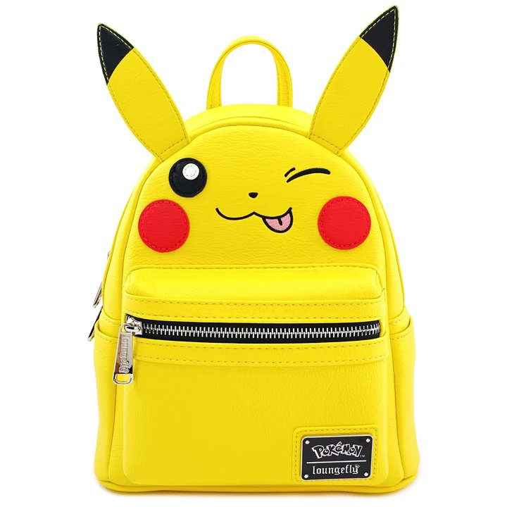 RT & follow @OriginalFunko for a chance to WIN a @Loungefly x Pokémon Pikachu Wink Mini Backpack!  #Loungefly #Fashion #Bag #Giveaway #Pokémon #Pikachu #Minibackpack
