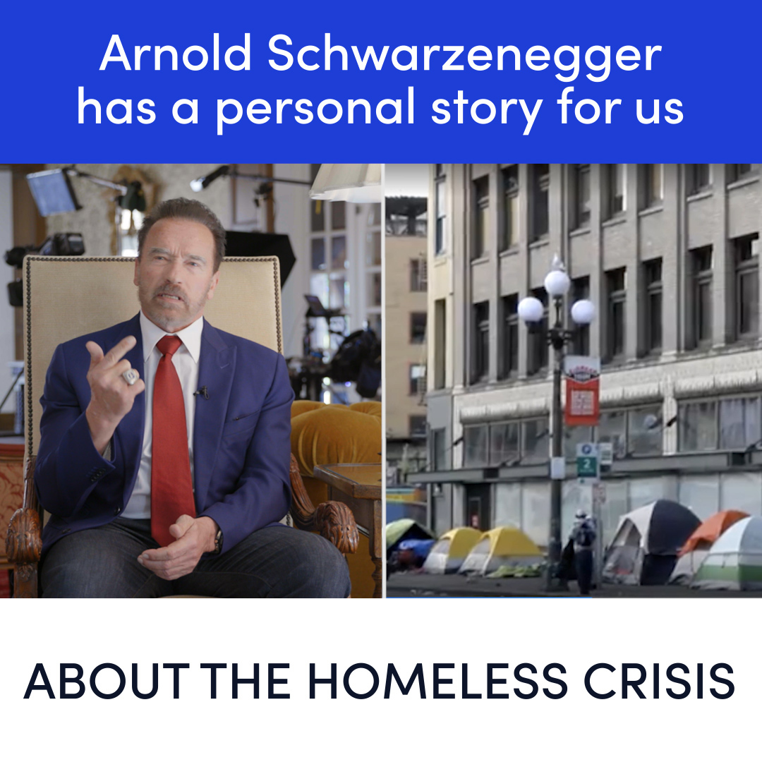 The biggest misconception about homelessness is that it is an easy issue to just get rid off, but it's not that cut and dry. -- @Schwarzenegger