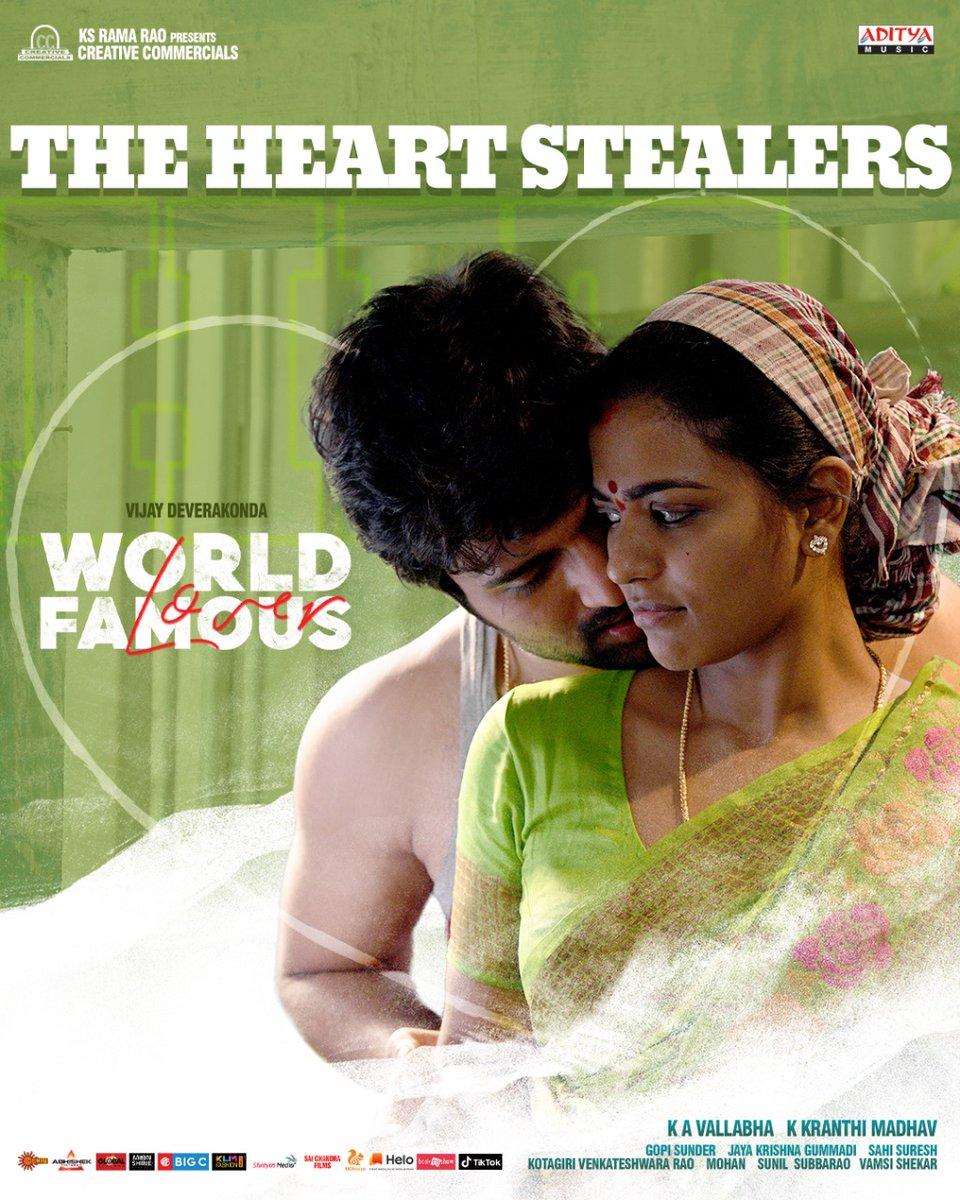 Celebrate Love at your nearest theaters !!  #WorldFamousLover 💕 #WFLinCinemas  @TheDeverakonda @RaashiKhanna @CatherineTresa1 @izabelleleite25 @aishu_dil @ksramarao45 @adityamusic @CCMediaEnt