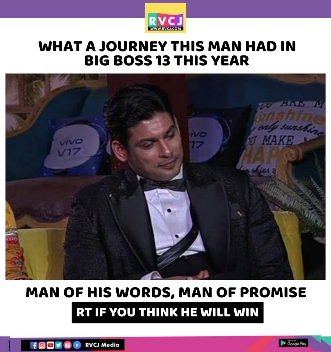 He is a man of his words, Man who played the game well & won almost evrry task. RT & like to see if he will win this against his competitors..   #SidharthShukla #Sid #SidShukla #SidKeAsliFans #BigBoss13 #Bab13