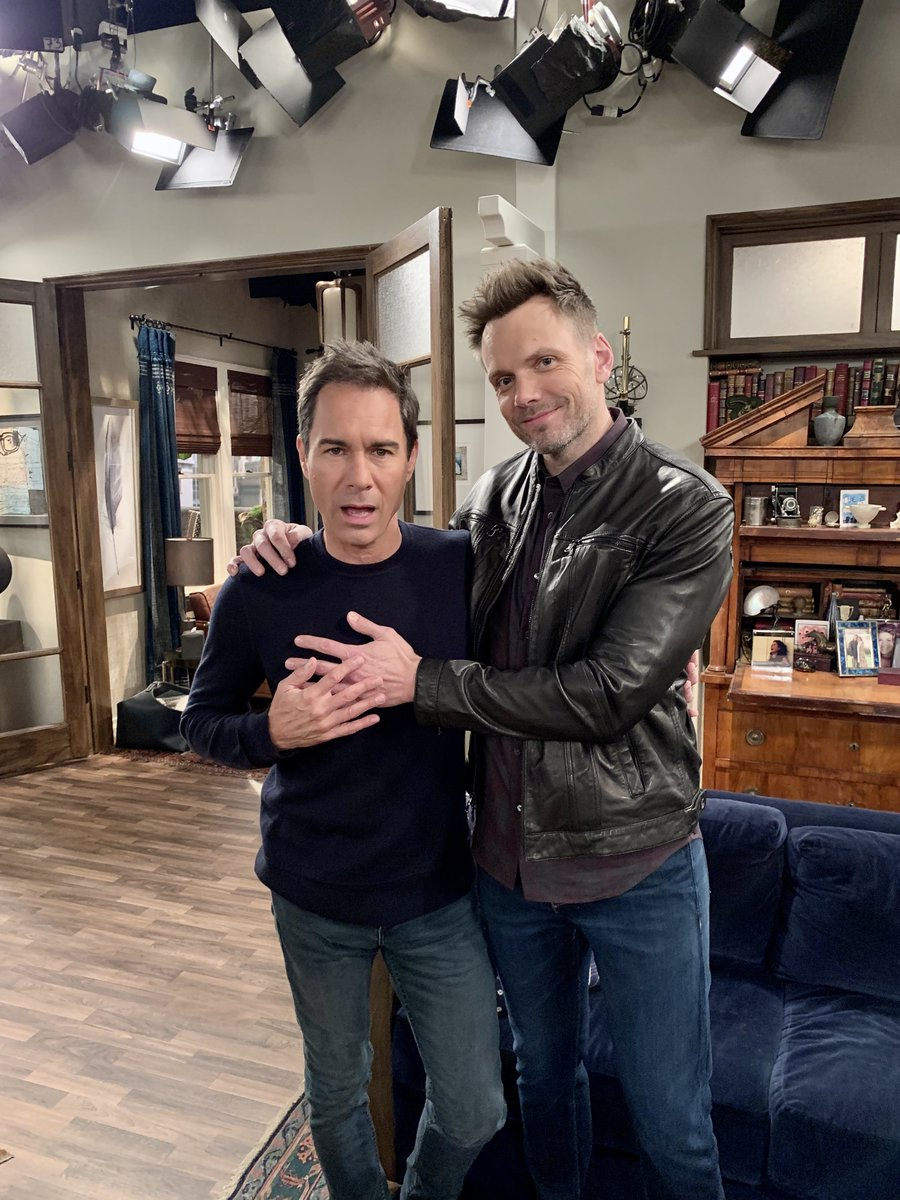 Big, Bold & Complex... who me? Welcome @joelmchale to the #WillandGrace fam.