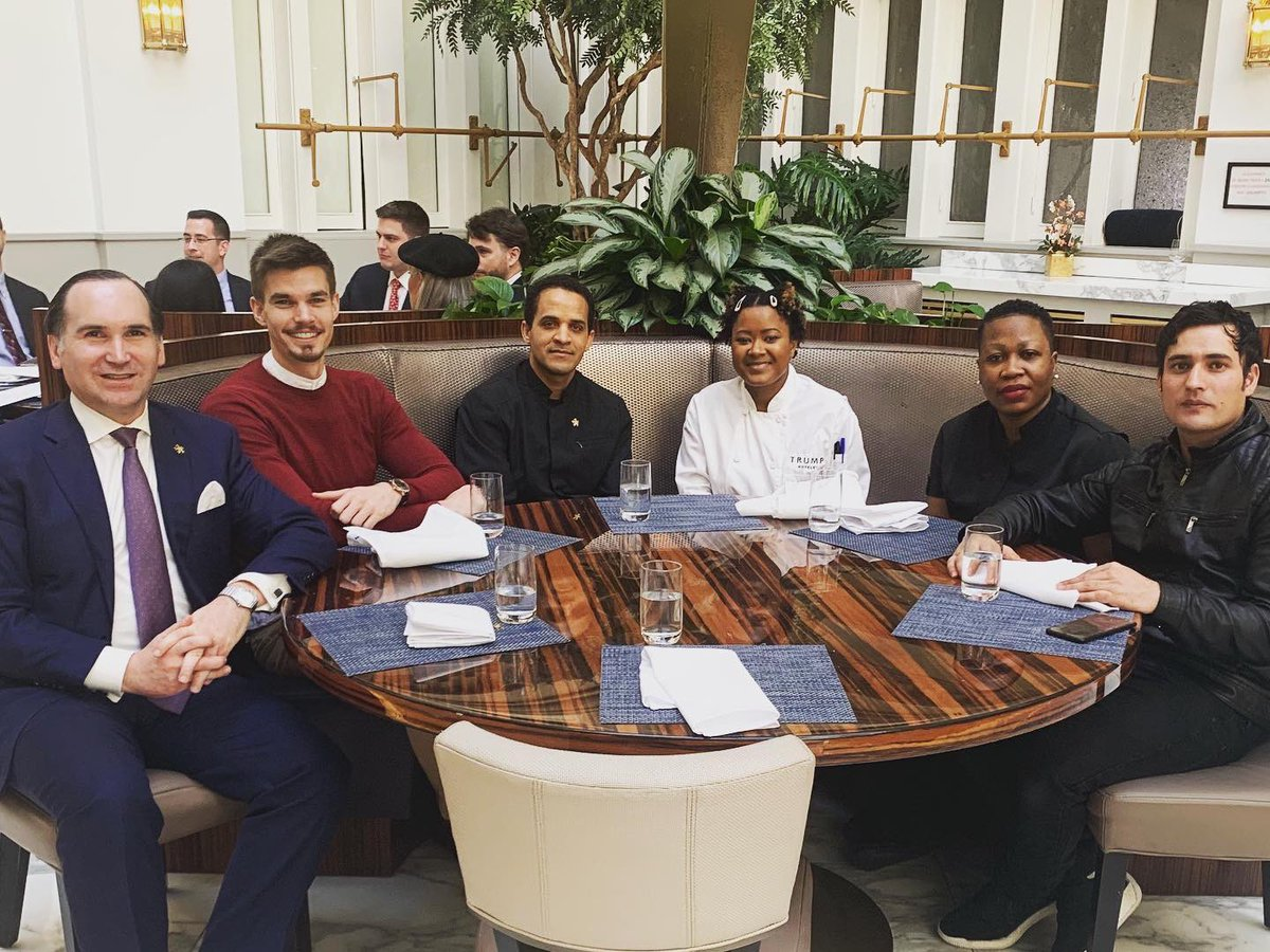 Another wonderful lunch at @BLTPrimexDB @ChefDavidBurke with 5 of our @TrumpDC associates...#teamwork #trumpteam #Trump #lunch #success #neversettle #onlyfivestarhoteldowntowndc #doitbetterthananyonelse