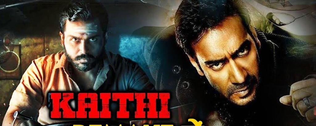 It's official, @ajaydevgn will be playing the lead in Blockbuster Tamil Action Thriller #Kaithi remake in Hindi.  Produced by @DreamWarriorpic @RelianceENT and @ADFFilms  The film will release on February 12, 2021.  @Shibasishsarkar #SRPrakashbabu @prabhu_sr @Meena_Iyer