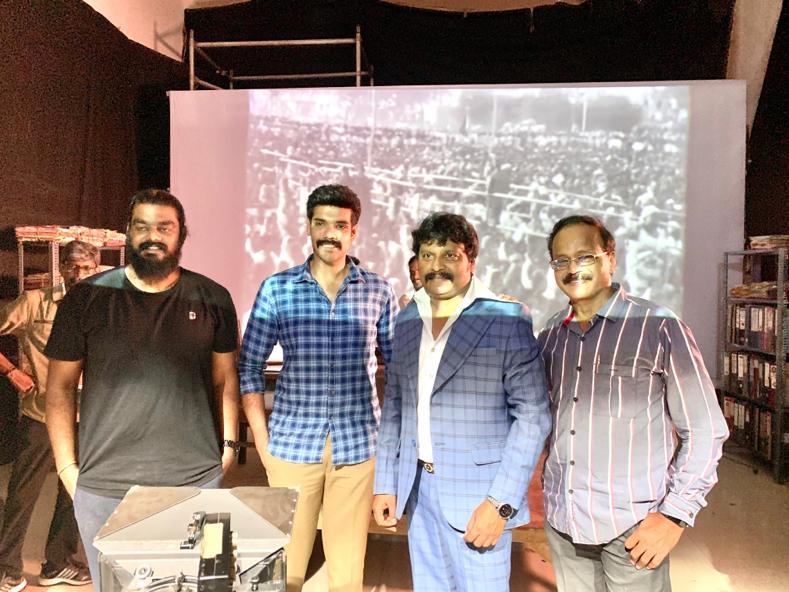 . @JSKfilmcorp is doing an important role in @Sibi_Sathyaraj 's #Kabadadaari   @Dhananjayang