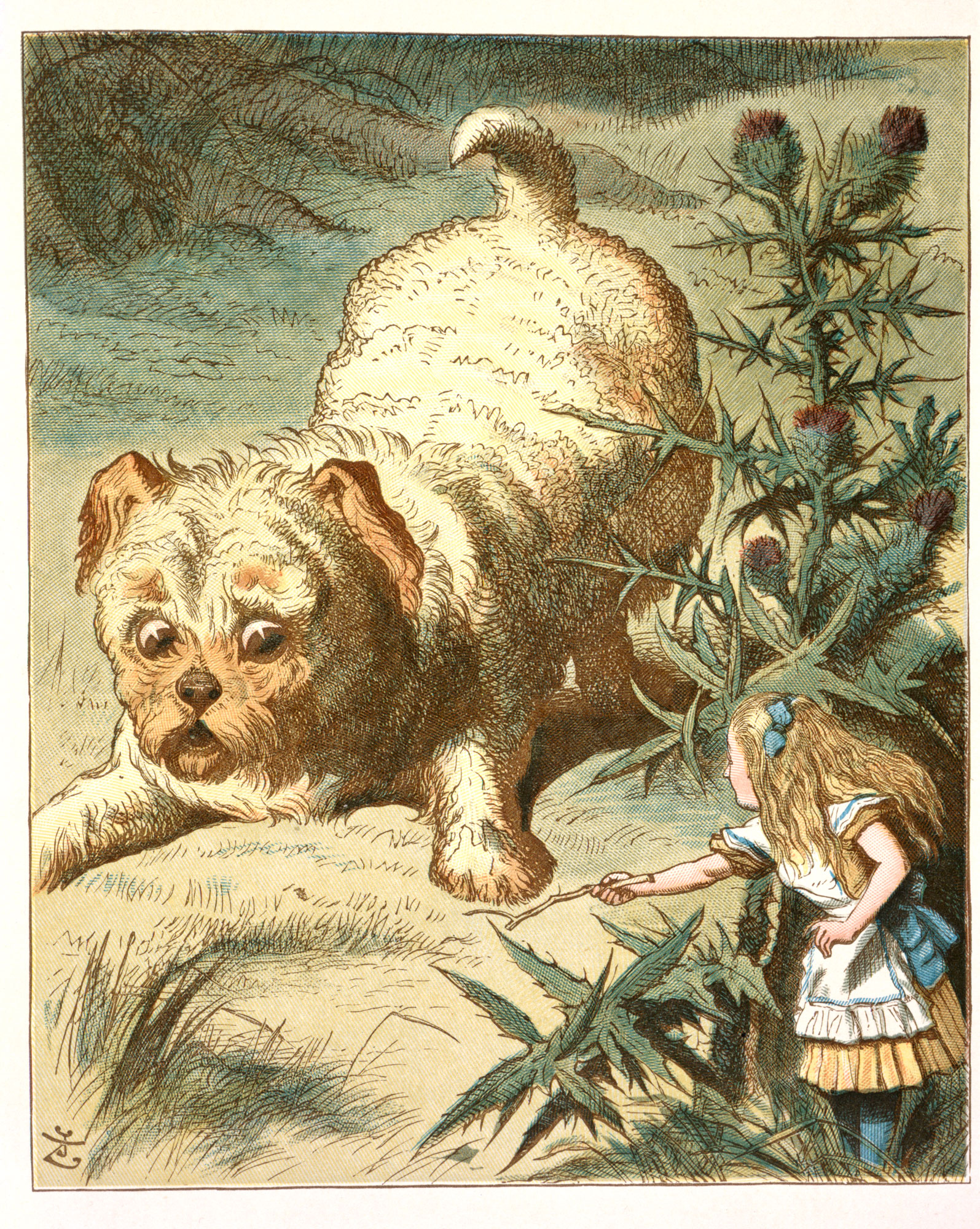 John Tenniel,  the illustrator, humourist and political cartoonist who was a star of Punch magazine, and illustrated Lewis Caroll's Alice adventures was born in London 200 years ago today.  He is honoured with a Google Doodle - and a mention @BBCRadio3 (pic @britishlibrary) https://t.co/3Ph0XJZpgv