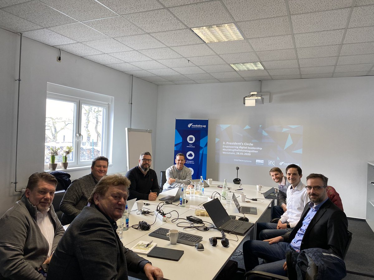 @MedialineAG @I_T_K_COM @ML11IT Management strategy meeting with all Medialine Group GMs - effective 2 days with lots of great results #bestteam #happytoworkwithyou