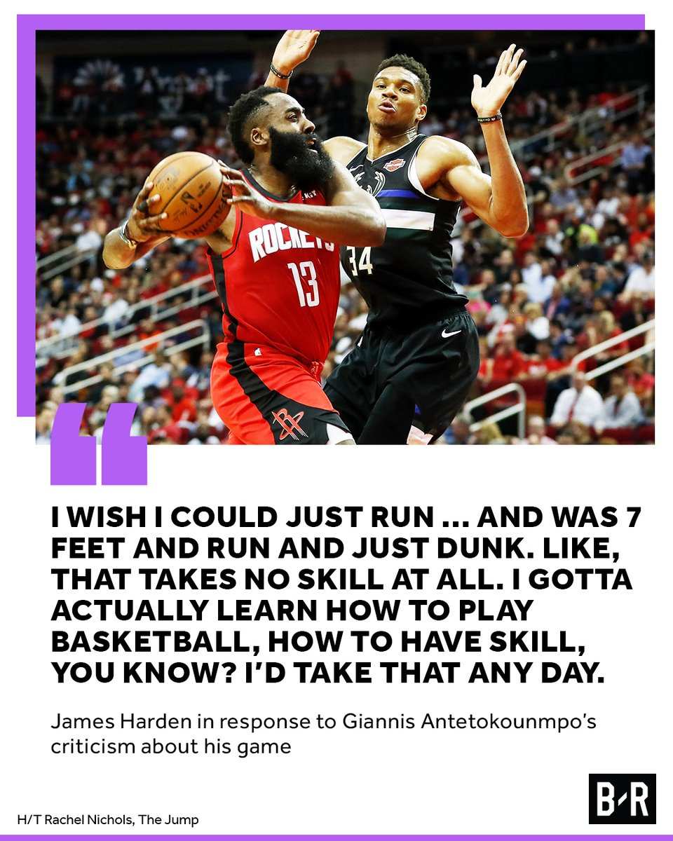 Harden is more than just a dribbler 😤