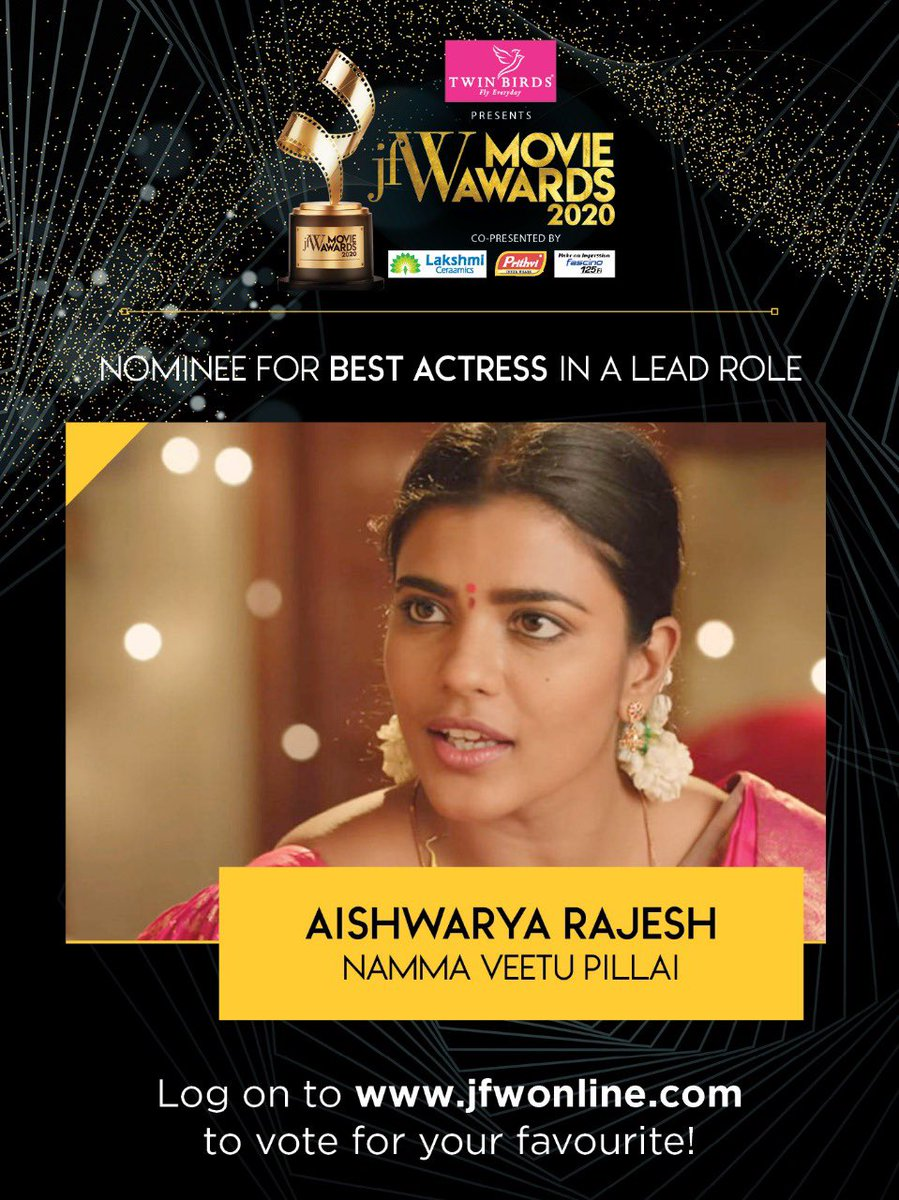 If you loved @aishu_dil's performance in Namma Veetu Pillai, vote for her NOW: