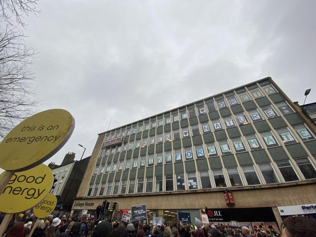 Kudos @iconbristol. We 💚 @GretaThunberg too. #schoolstrike4climate #ClimateStrike #BristolYS4C https://t.co/igox9EbG6I