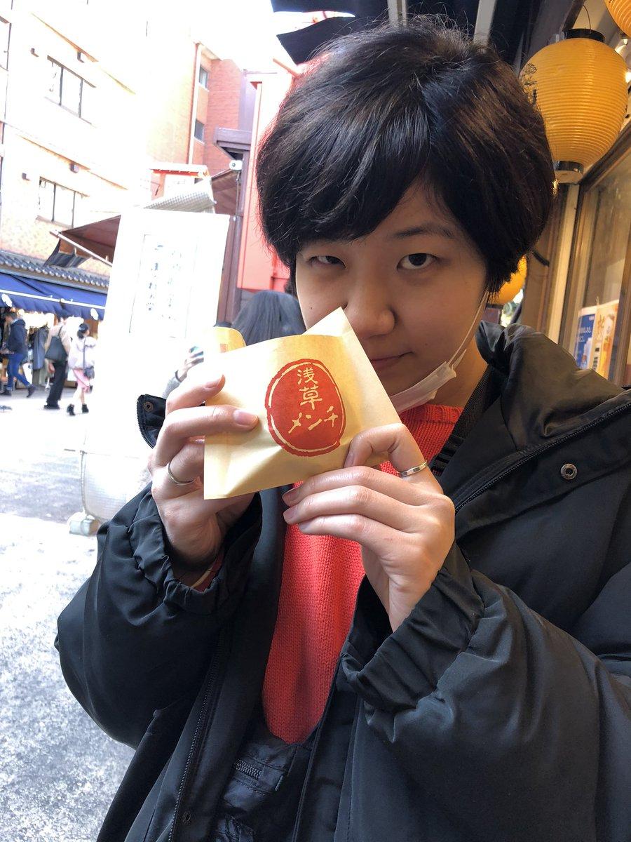 test ツイッターメディア - 今日は朝からとっちーがご機嫌だったしいい天気だったから1日デート行ってきたよ😋 浅草行ってきびだんごとどら焼きとメンチと揚げまんじゅうとお蕎麦食べて 水上バスでお台場まで行って ドラえもん未来デパートっていう東京観光してきた🚤 どこも空いてて天気も良くて最高すぎでした🙆♀️ https://t.co/ODVWpMVALg