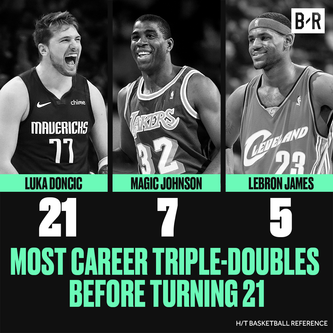 Luka is doing legendary things and it's only year two 📈
