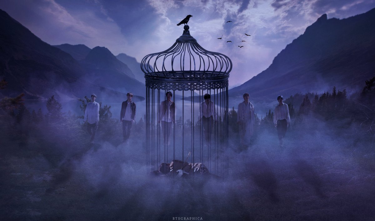 Trapped in a cage #BTS #On @BTS_twt