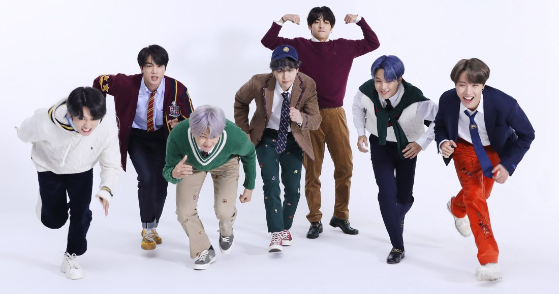 Congratulations @BTS_twt! Map Of The Soul: 7 is their second UK Number 1 album, and fastest seller of 2020 so far -