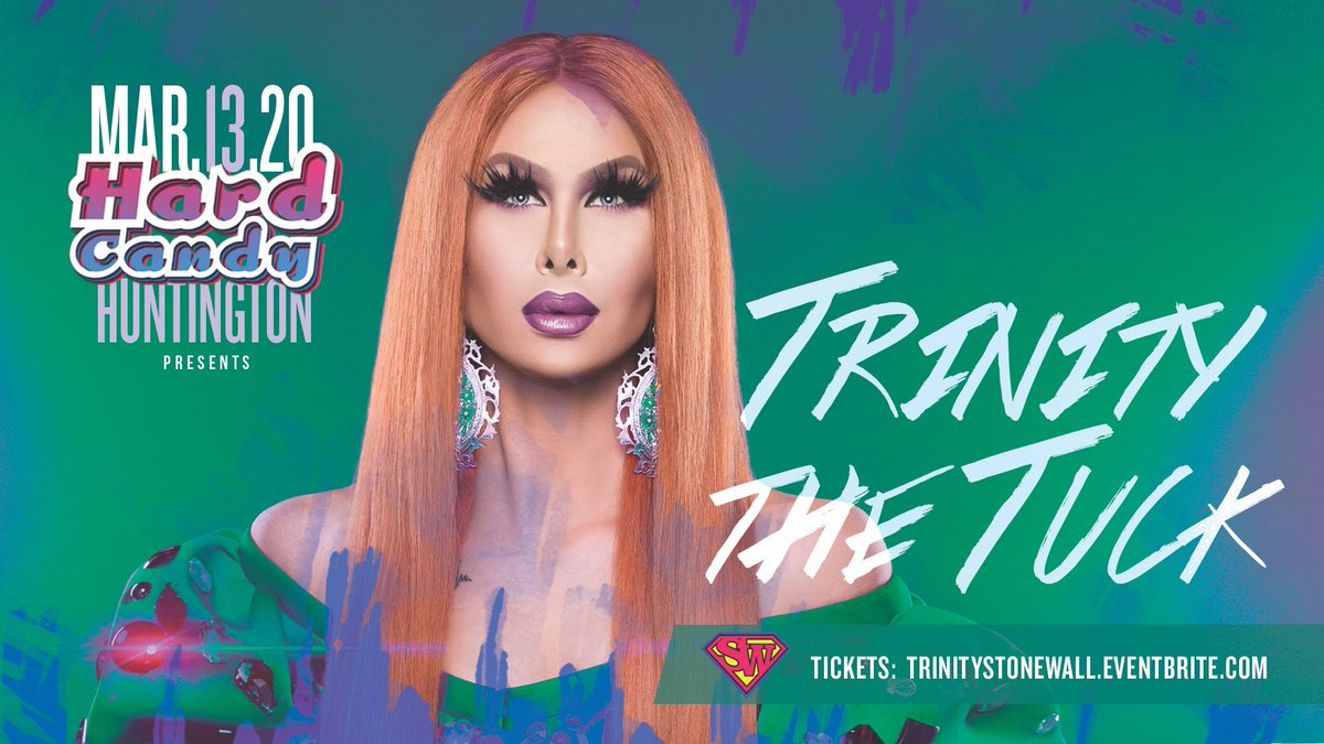 Huntington WV! Just two weeks away from @TrinityTheTuck at @THESTONEWALL! Get tickets now at