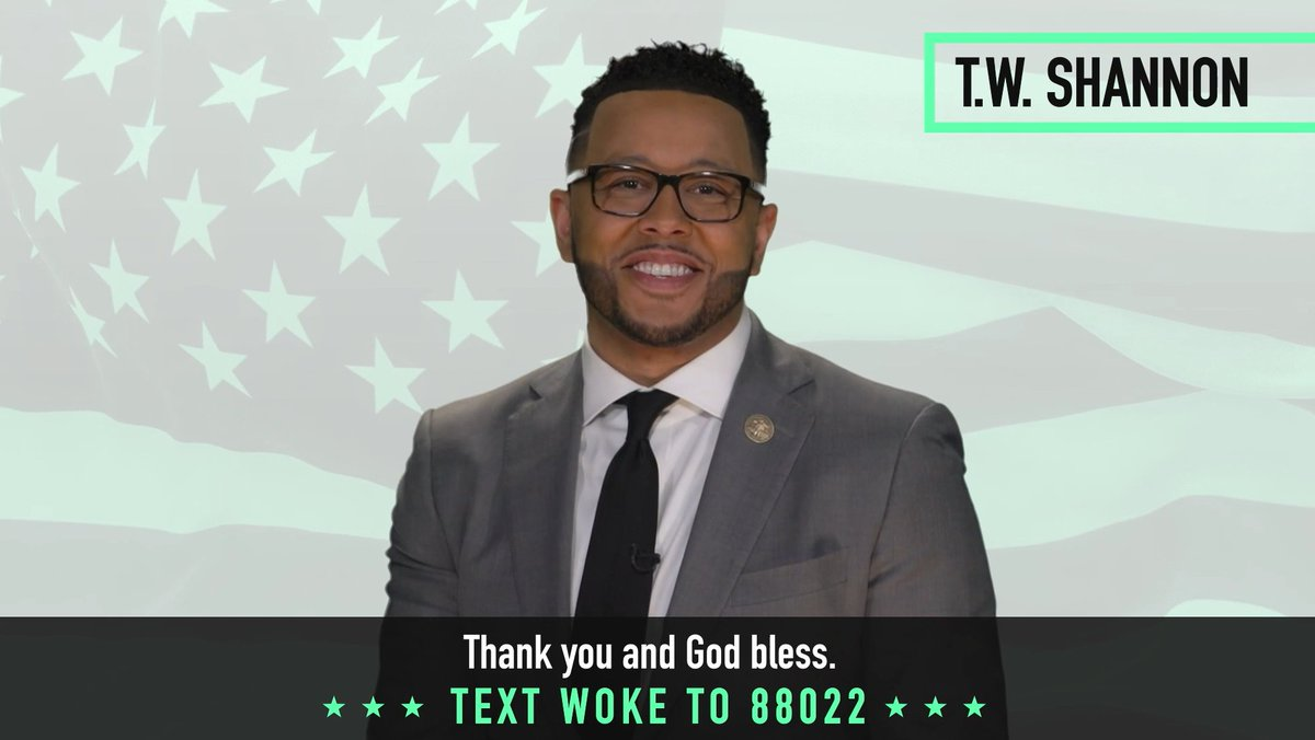 JUST RELEASED: @TeamTrump and @BlackVoices4DJT's State of Black America video featuring the former Speaker of the Oklahoma House of Representatives, @TWShannon. Read & watch it here: