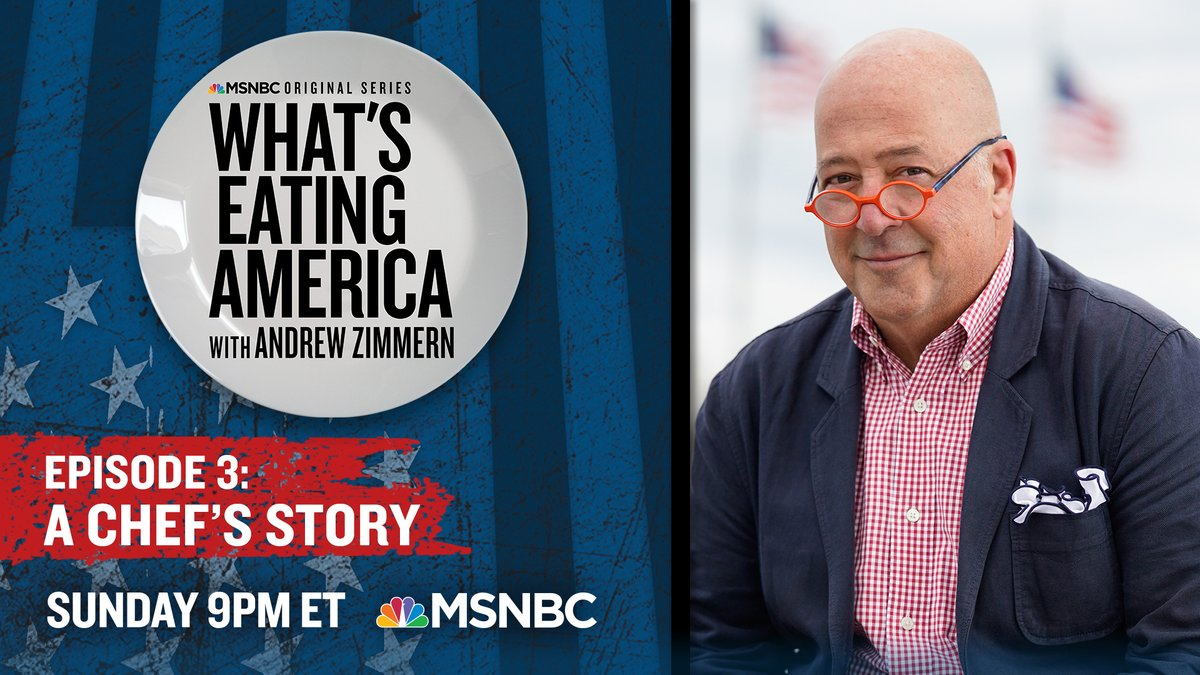 Chef @andrewzimmern addresses the growing problem of addiction in the restaurant business and explores how the industry can offer a path forward to those in recovery.  Watch #WhatsEatingAmerica Sunday at 9 p.m. ET on @MSNBC.