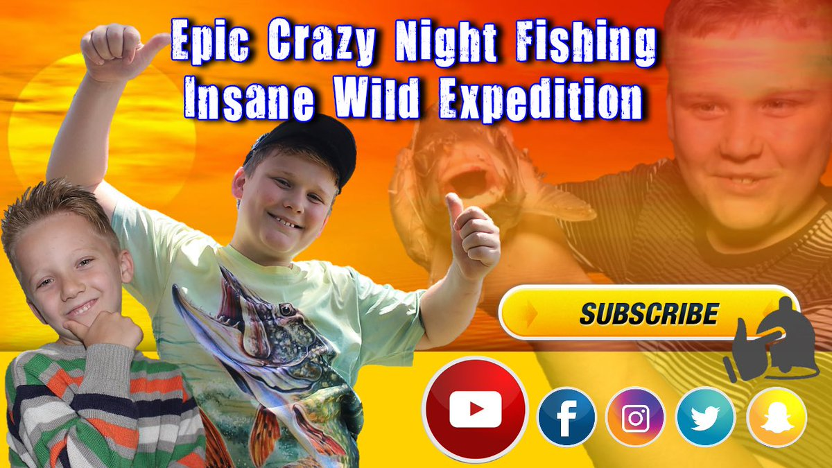 Epic Crazy Night Fishing   Insane Wild Expedition https://t.co/texvlgcANa  #carpfishing #carp #fishi
