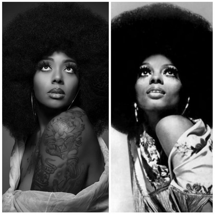 Ambrosia Jones as Diana Ross I love this recreation.