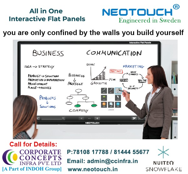 neotouch_in #neotouch #interactiveflatpanels #interactiveflatpaneldisplay #interactivetouchpanel #touchpaneldisplay #conference #Meetings #Training #educationdisplaypanel #collaborativelearning. #education Visit us