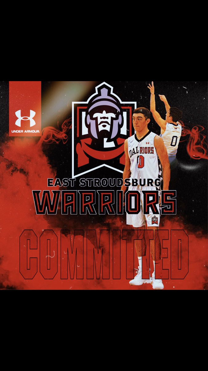 Very thankful to say that I will be continuing my academic and basketball career at East Stroudsburg University. Thank you to all my family, friends, and coaches that have helped me achieve this goal. I couldn't have done it without you all. 🔴⚪️🔴⚪️ #WarriorWay
