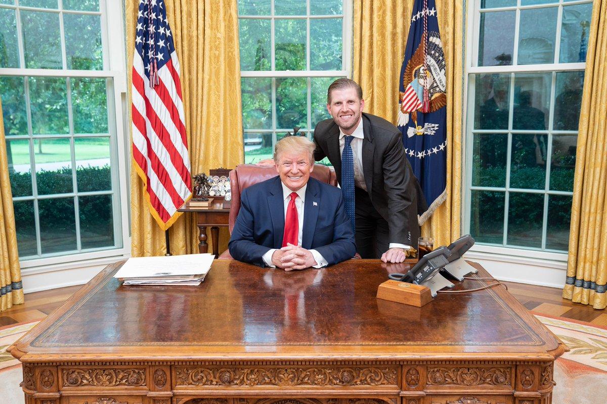 Very proud of this man! Happy Presidents' Day Dad! @realDonaldTrump