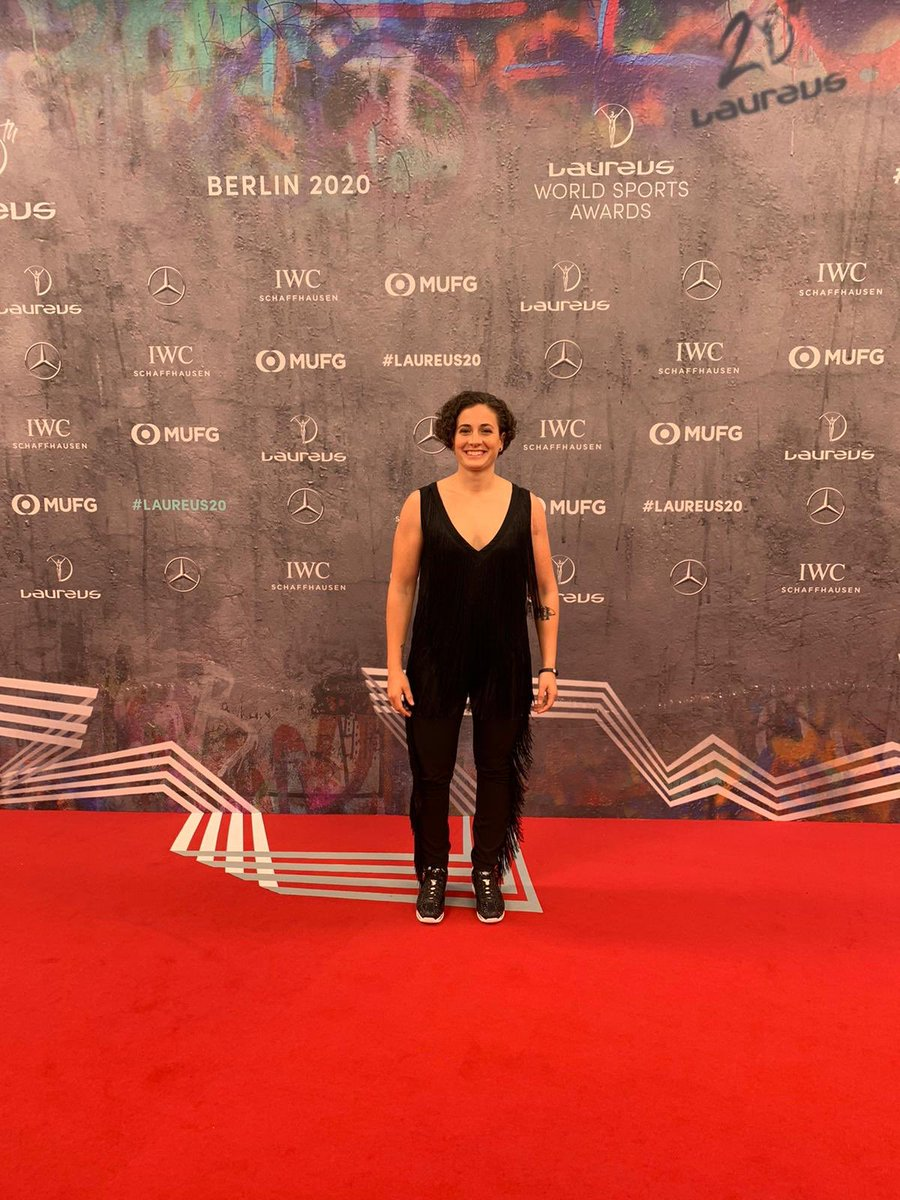 test Twitter Media - 🤩 Stunning @AnaCarrasco_22 is enjoying #Laureus20 at Berlin with the world sporting stars⭐️ https://t.co/qfgiPftJpE