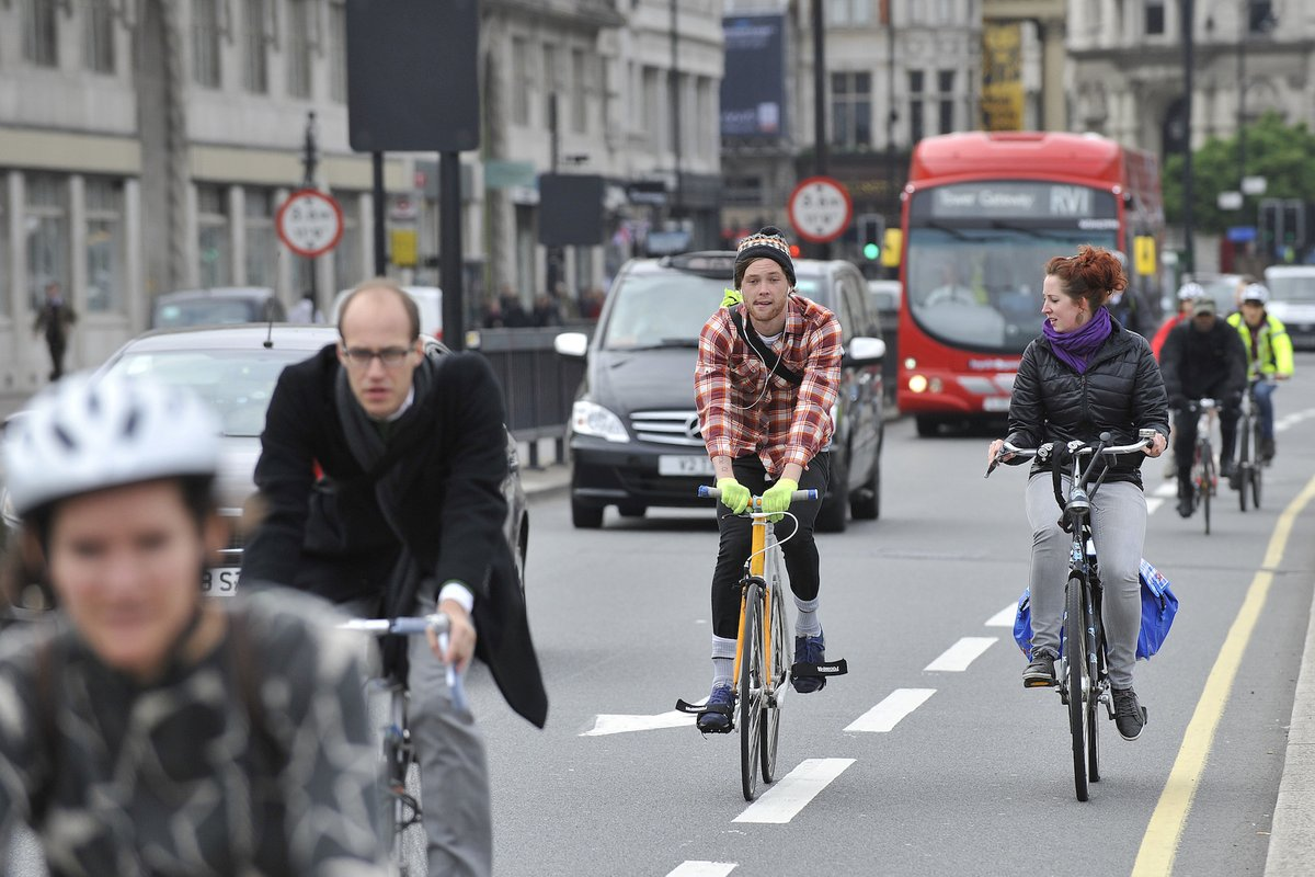 test Twitter Media - Cycling to work might just help you live longer, according to new study | https://t.co/fTOS392x04 https://t.co/1sBWNVlw3g