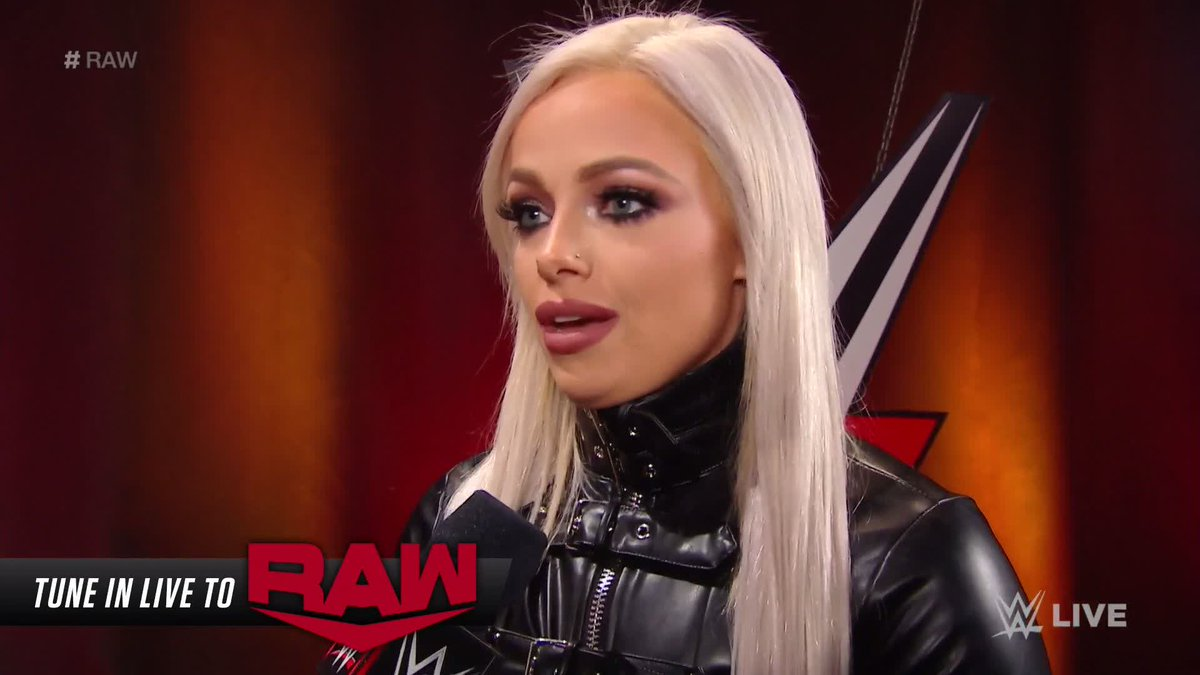 .@YaOnlyLivvOnce has a message for @RubyRiottWWE ahead of #EliminationChamber!  #RAW