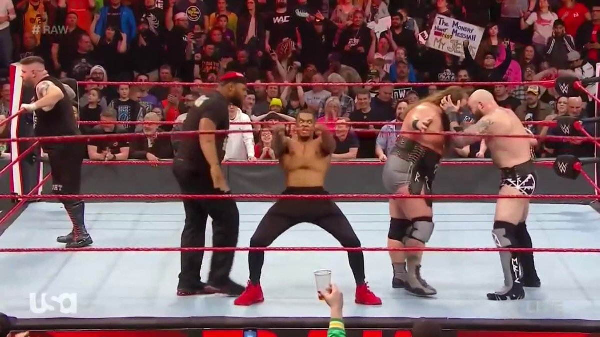 How we're feeling after that 🔥🔥🔥 #RAW!