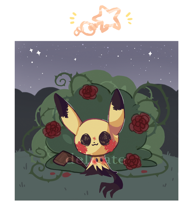 new #Mimikyu charm in the store!! #Pokemon #PokemonGO #art #artistsontwitter check it out here