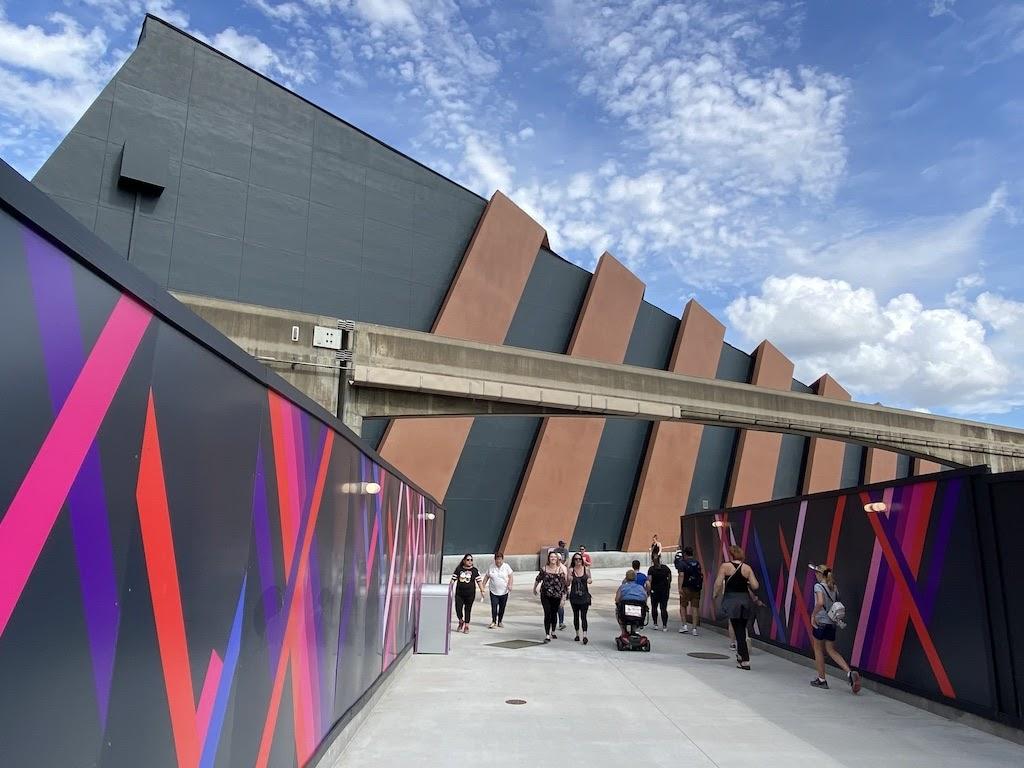 A new passageway around #FutureWorld East has opened at #Epcot: