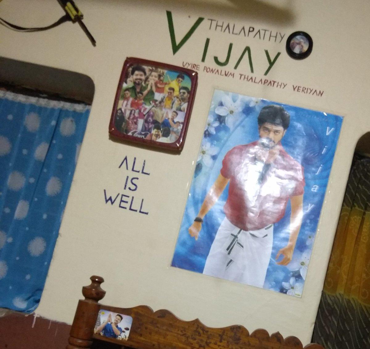 Good morning 🌄 Nanbargale.....  Daily naa 1st paakkara Face Yennode #Thalapathy yode Face thaan❤️  #KuttiStroy #Master @actorvijay