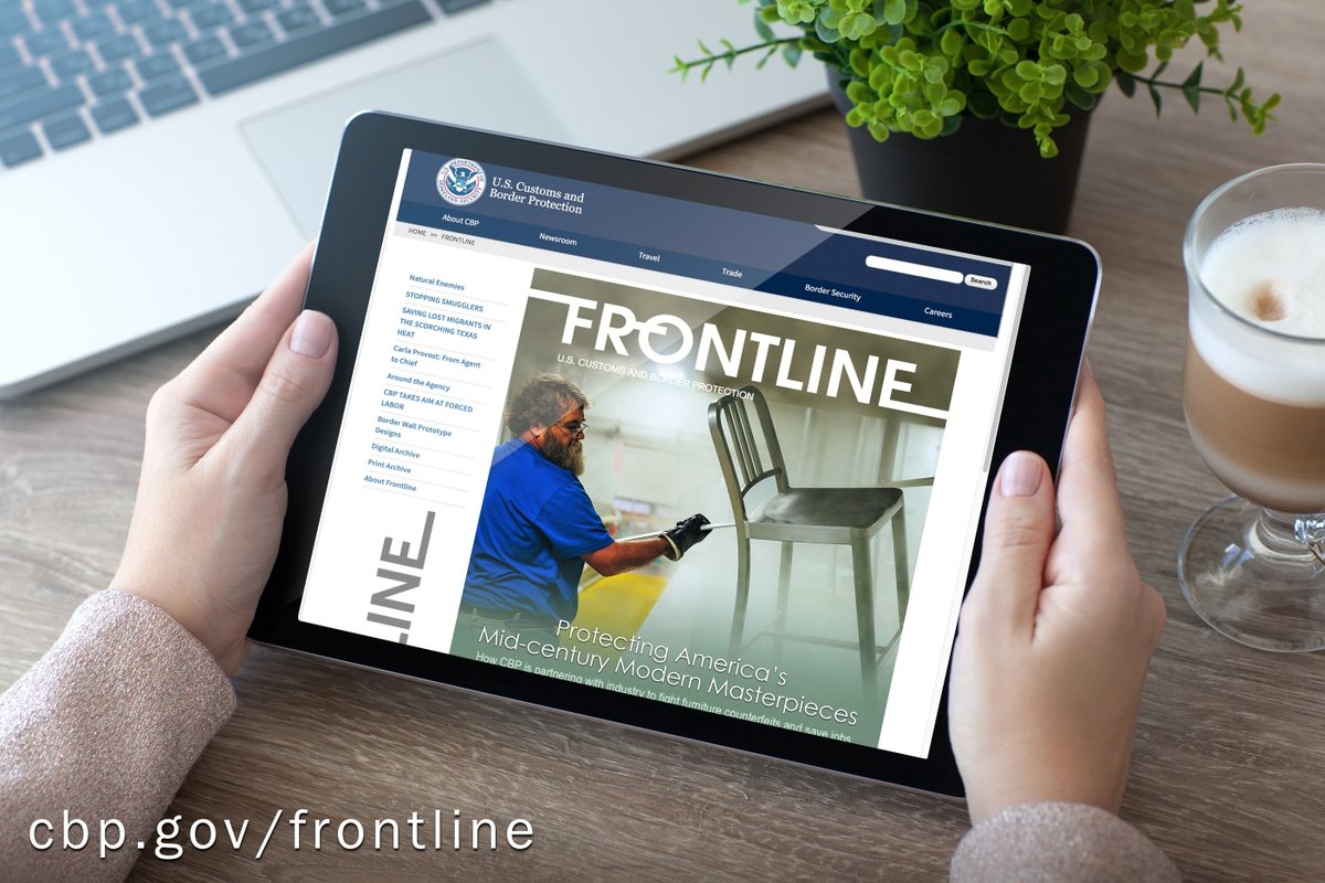 Learn how CBP is partnering with industry to fight furniture counterfeits and protect American jobs, in the latest article of Frontline magazine: