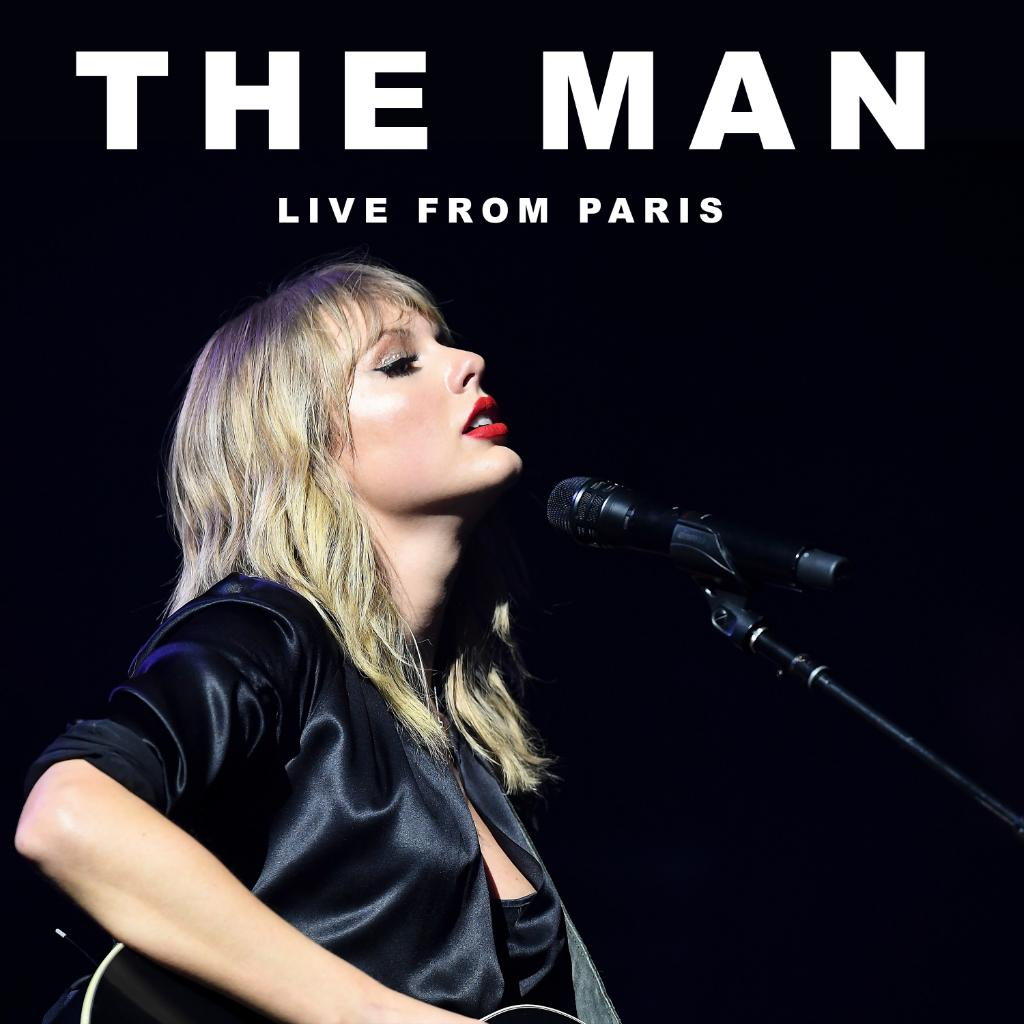 A new rendition of @taylorswift13's #TheMan, #LiveFromParis. ✨ Listen now.