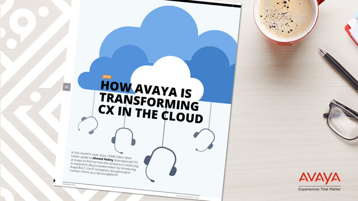 #RT @Avaya_MEA: In this @tahawultech exclusive, Ahmed Helmy (@Afhelmy) talks about how #Avaya #CCaaS offers businesses the most convenient path to an enterprise-class #cloud #ContactCenter that's flexible, scalable and cost-effective …