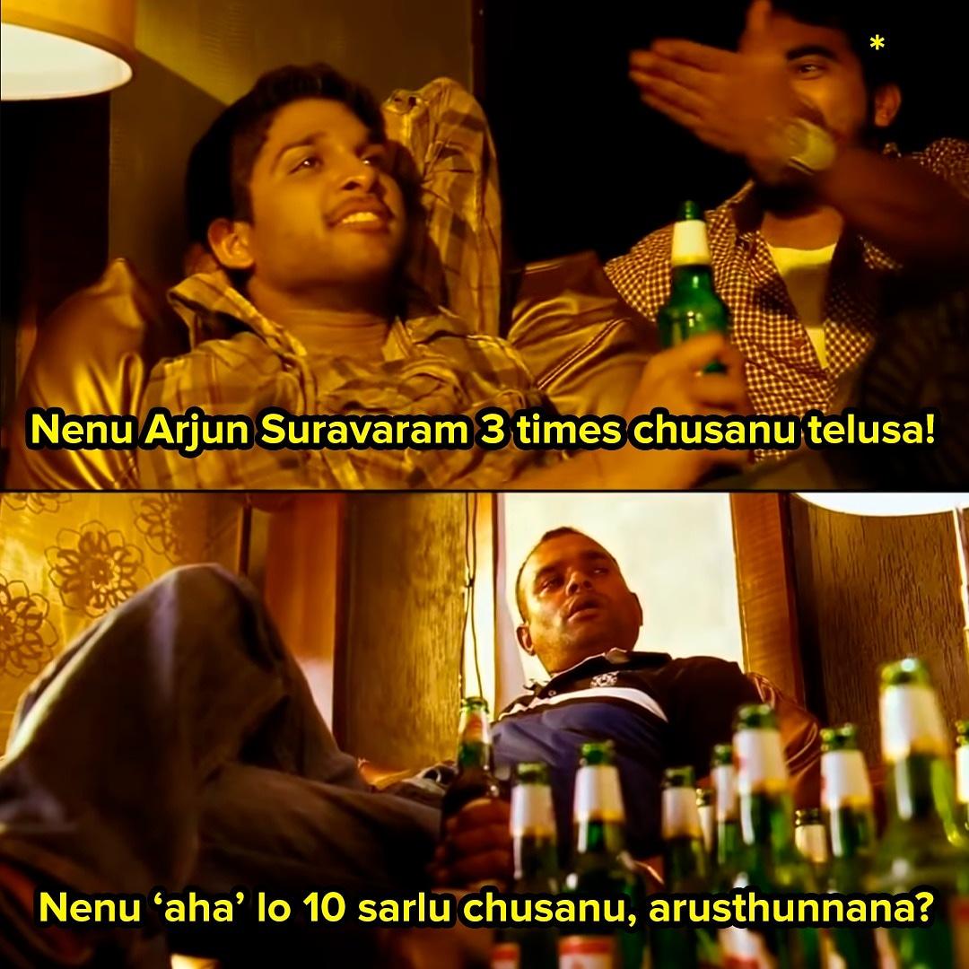 Wait till you know how much time people have spent watching #ArjunSuravaram on #ahavideoIN.  Avvakavtaru, pakka!  @actor_Nikhil @Itslavanya