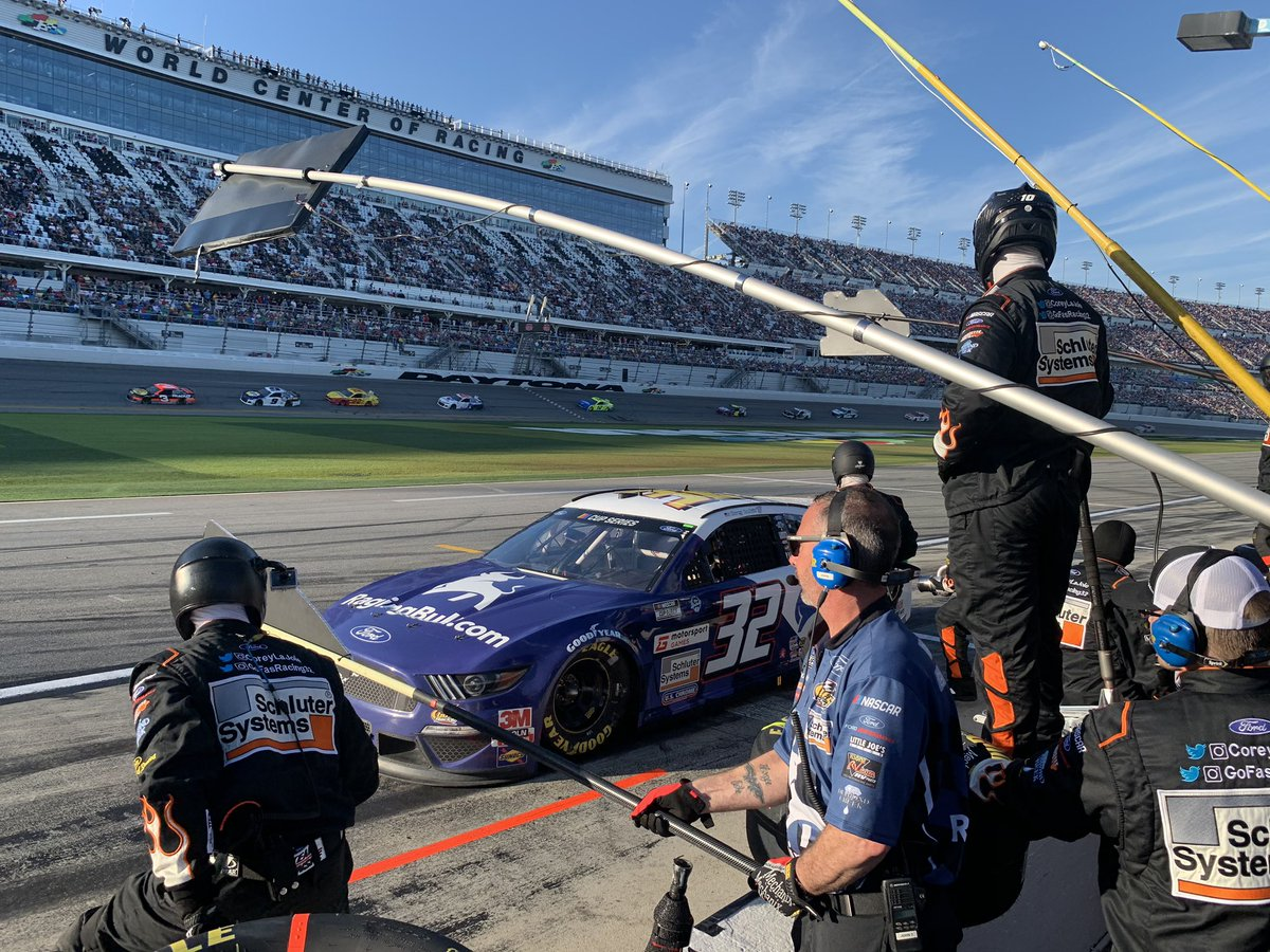 Congratulations to @CoreyLaJoie and the talented team @GoFasRacing32 on a solid finish at #DAYTONA500!  We are proud to have been a part of this legendary race and the love from the NASCAR community was unreal!  We wish a speedy recovery to @RyanJNewman