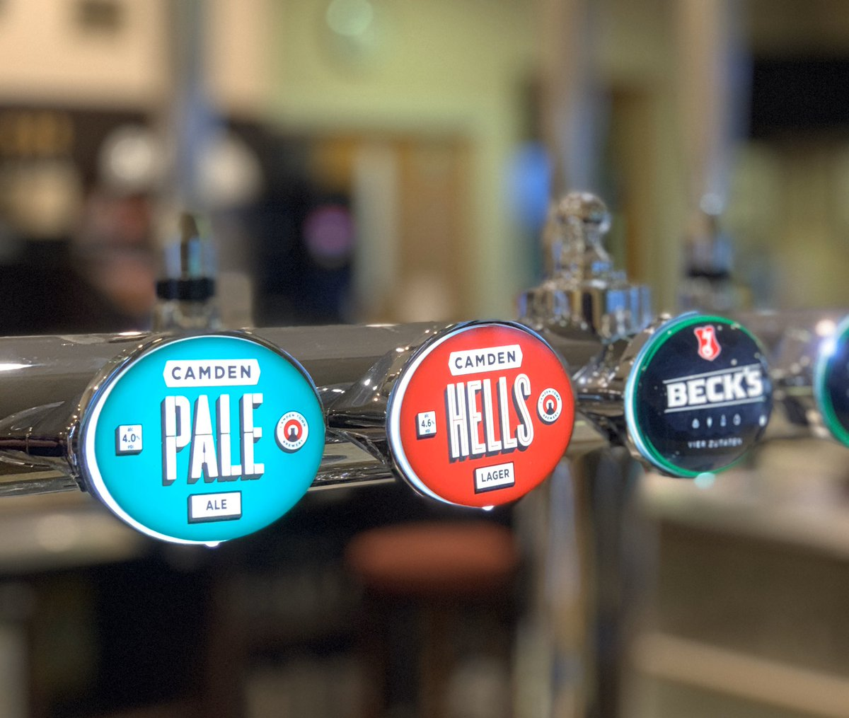 test Twitter Media - We have some new beers on draught. Why not pop in & try one of our new craft beers from Camden Brewery. Hella Lager or Camden Pale Ale. They're tasting great! https://t.co/7mNHNShFYB