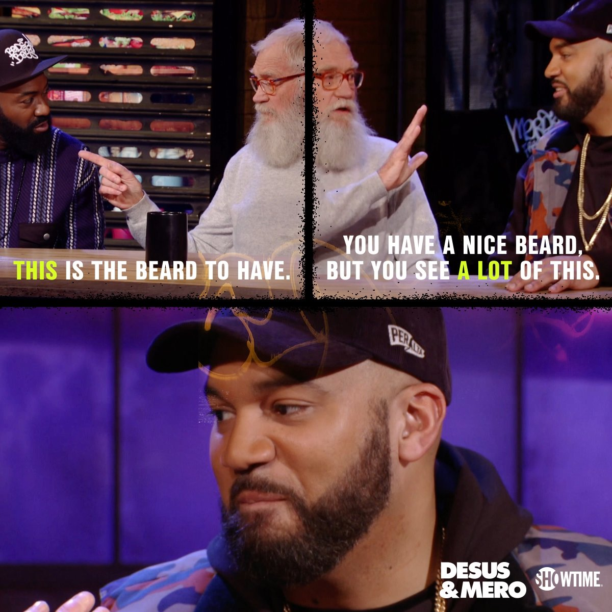 .@THEKIDMERO may have taken an L here, but it's still all love for @Letterman.  Watch his extended #DESUSandMERO interview: