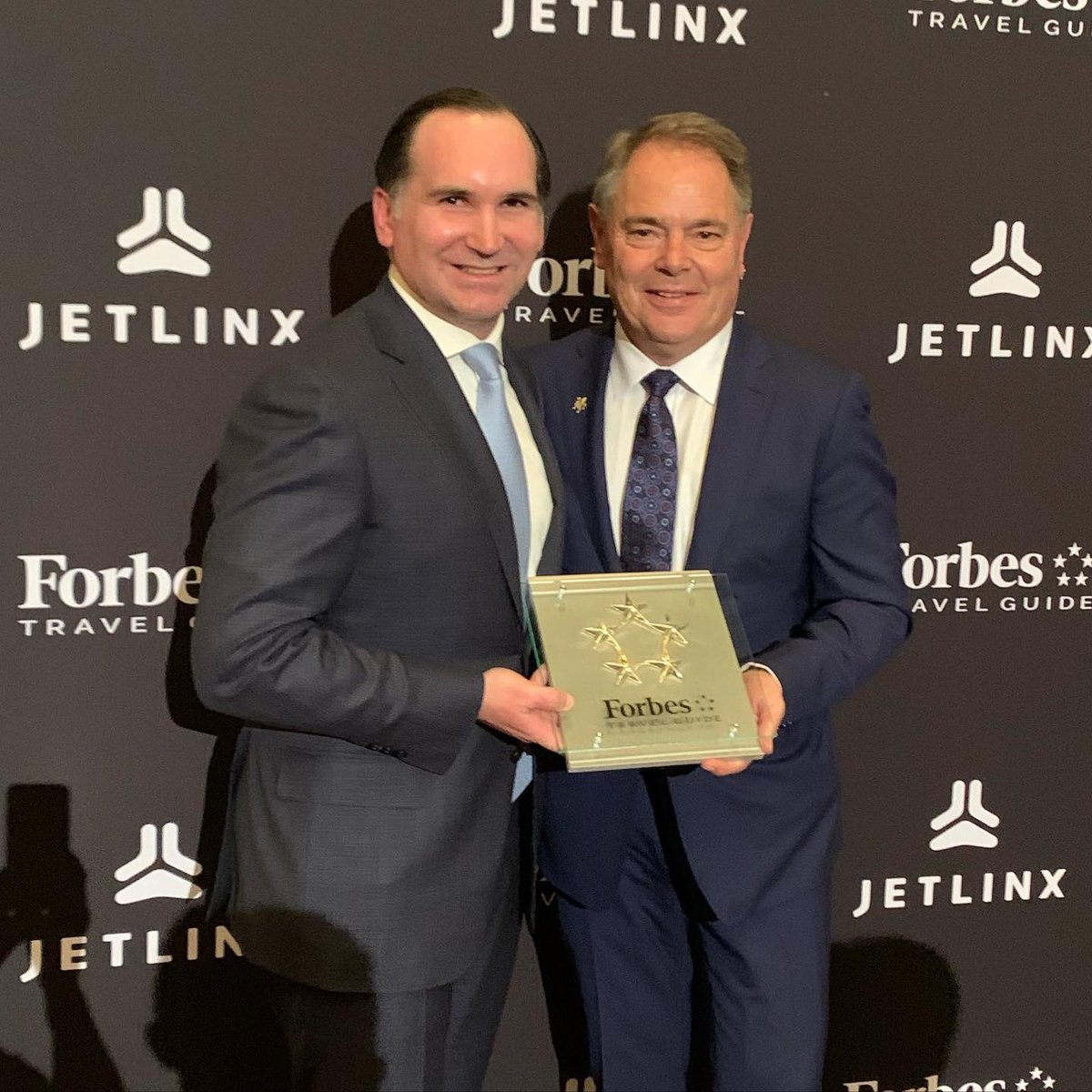 An honor to receive our 2020 5 star award from @ForbesInspector CEO, @FilipBoyen last night. Congratulations to all our @TrumpDC associates for one more time achieving the most coveted and respected award in the hotel industry...#Trump #onlyfivestarhoteldowntowndc #success