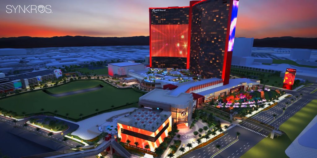 "NEWS RELEASE - ""Resorts World Las Vegas Names Exclusive Gaming System Management Partner"":  ✨   #SYNKROS #gaming #vegas #casinogaming"