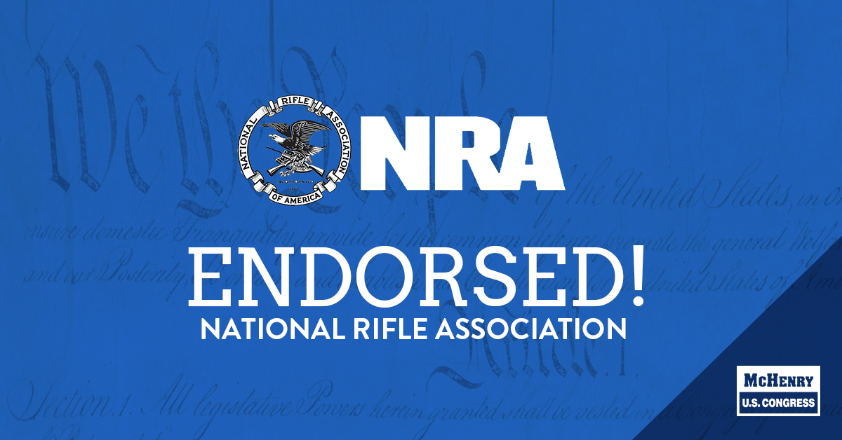 Grateful to have received both an 'A' rating and the endorsement from the @NRA. I'm committed to defending & fighting for North Carolinians' 2nd Amendment rights. #2A