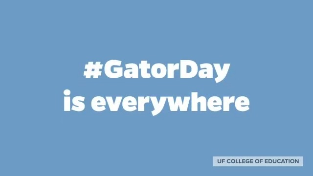 RT @UF_COE: Pixel Albert's been all over the Norman Hall, like #GatorDay's been all over the world! https://t.co/YBEBP4yGaB