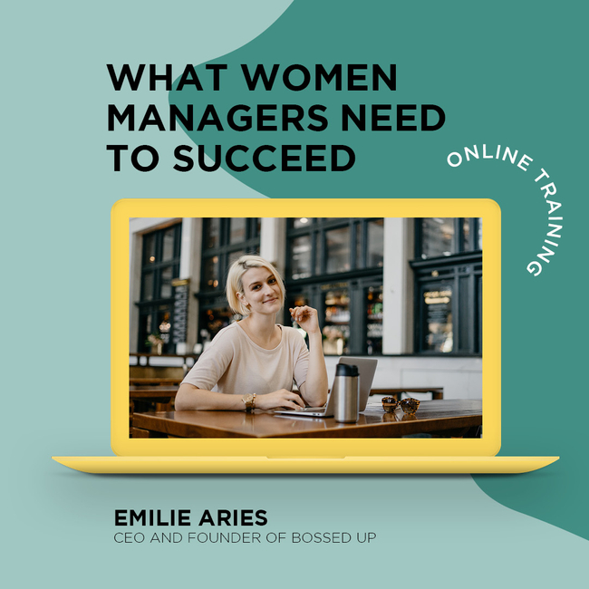 Looking to develop your #leadership & #management skills?   Join @emiliearies for our FREE online training, What Women Managers Need to Lead: