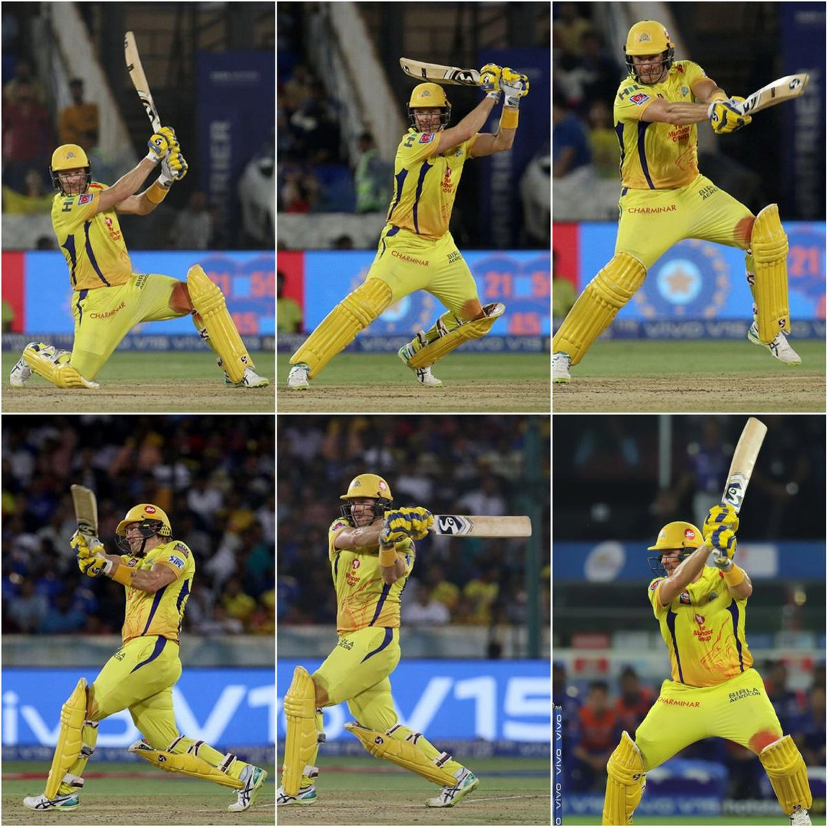 This picture has a separate fan base. One of the most emotional moment ever. Shanesational #WattoMan forever💛🦁  #Throwback #IPL2020 #Yellove #CSK  @ShaneRWatson33 @ChennaiIPL